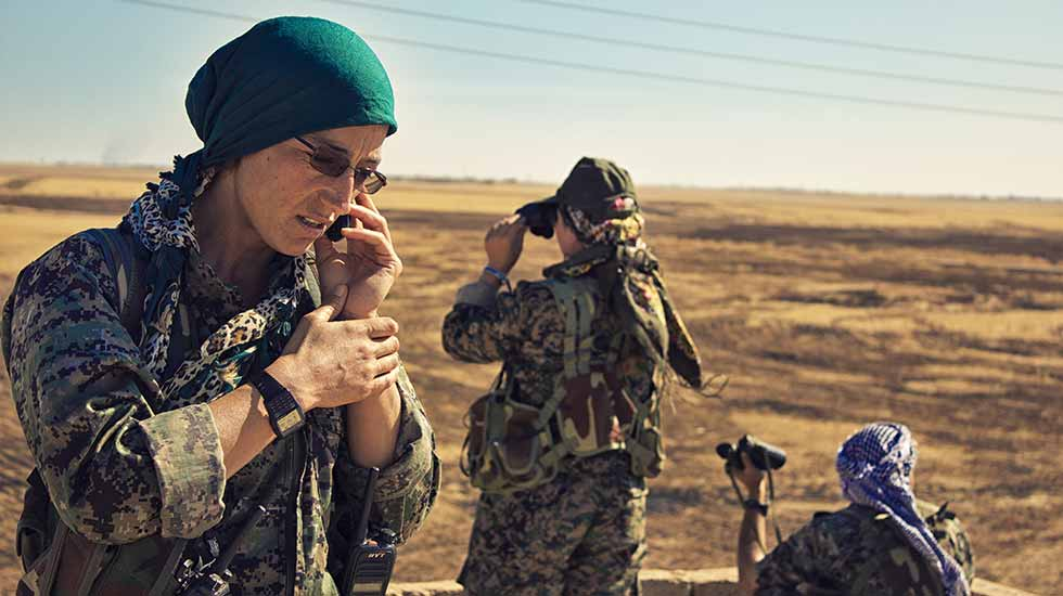 L'Alternativa Activities - Roundtable: The Women's Revolution in Rojava